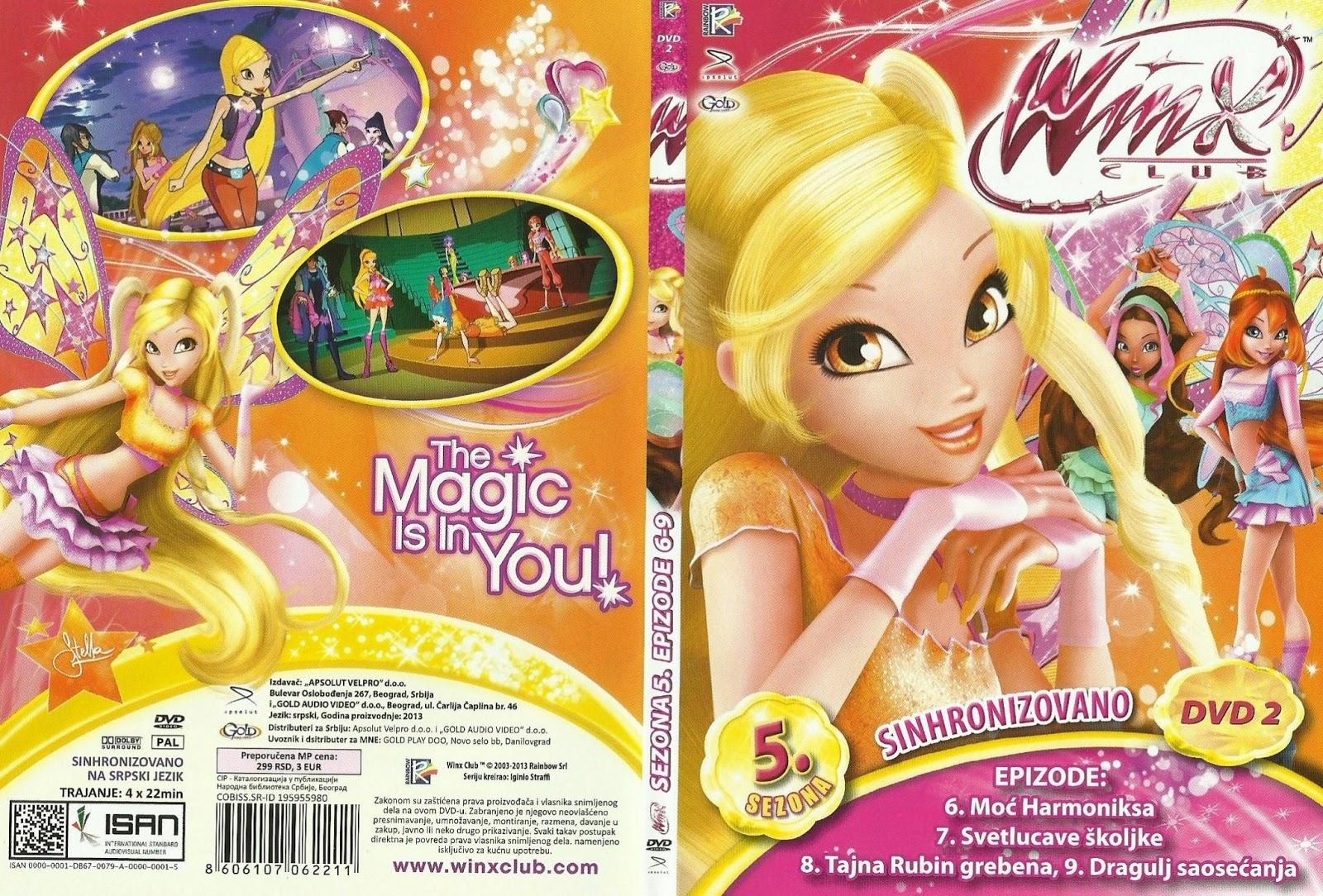 WinxClub4Ever | News™: NEW IN SERBIA! WINX DVD No.2 ! Novi ...