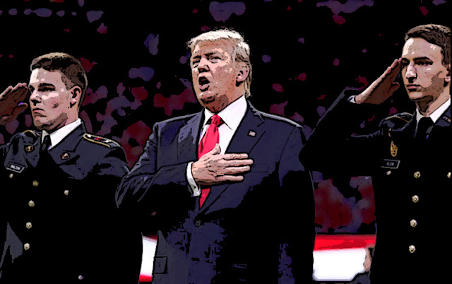 Montreal Simon: Donald Trump and the Great National Anthem ...