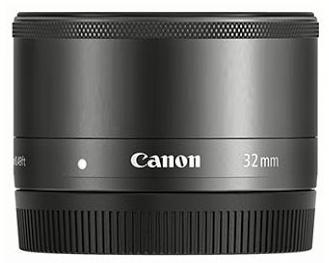 Возможный внешний вид объектива Canon EF-M 32mm f/1.4 STM