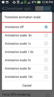Transition animation scale asus