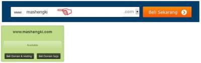 cara membeli domain idwebhost