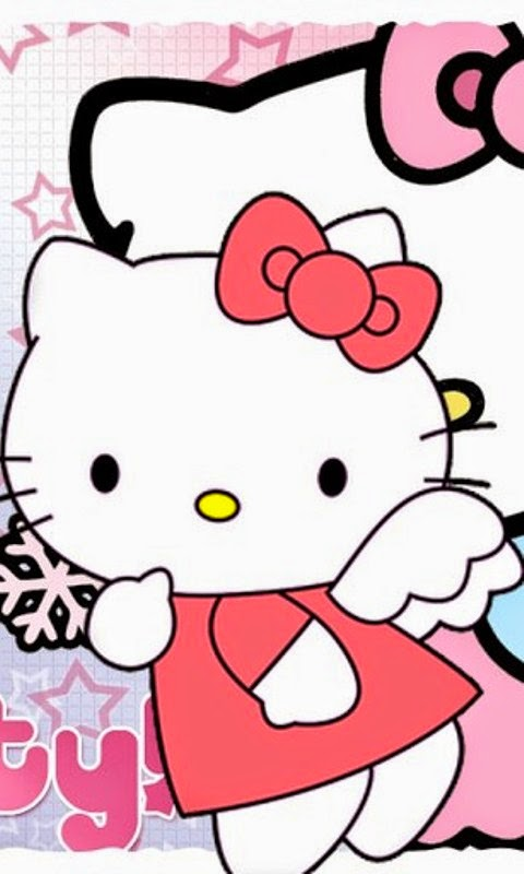 Wallpaper hello kitty pink untuk android terbaru