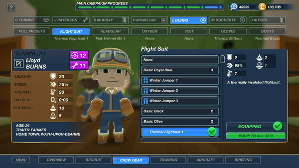 Bomber Crew Secret Weapons PC Game