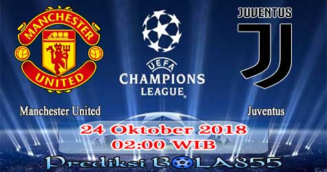 Prediksi Bola855 Manchester United vs Juventus 24 Oktober 2018