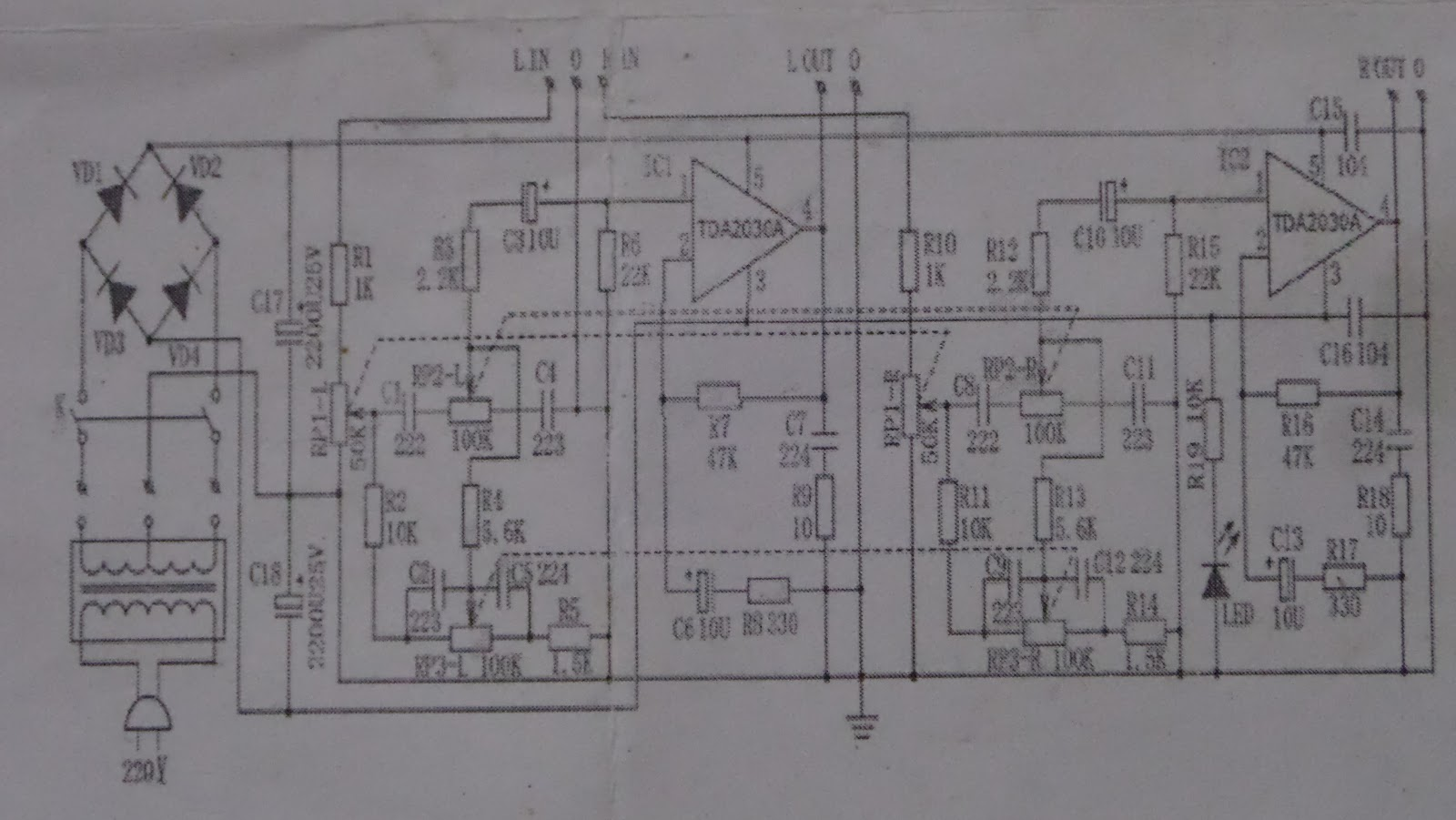3tawi 12v 30w Diy Tda A Dual Track Power Amplifier