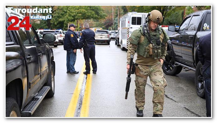 مسلح يستهدف معبدا يهوديا في بنسلفانيا الأمريكية ويقتل 11 شخصا!