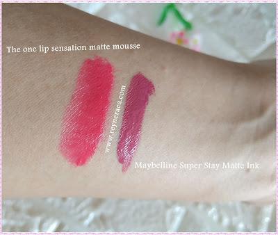 perbandingan lipstick maybelline dan oriflame