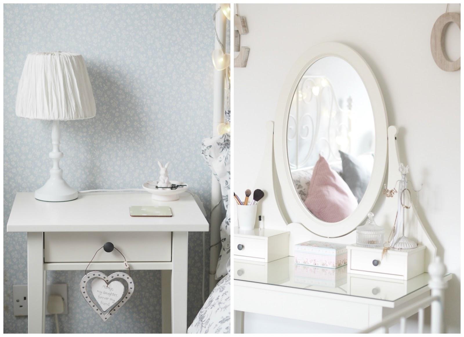 Leicester interior design vintage bedroom makeover Priceless Life of Mine over 40 lifestyle blog