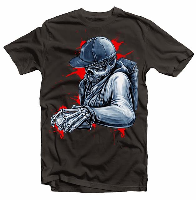 urban street tshirt design
