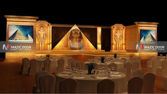 Egyptian Theme Stage Design 03