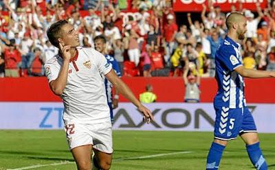 Sevilla empata contra Alavés 1 a 1