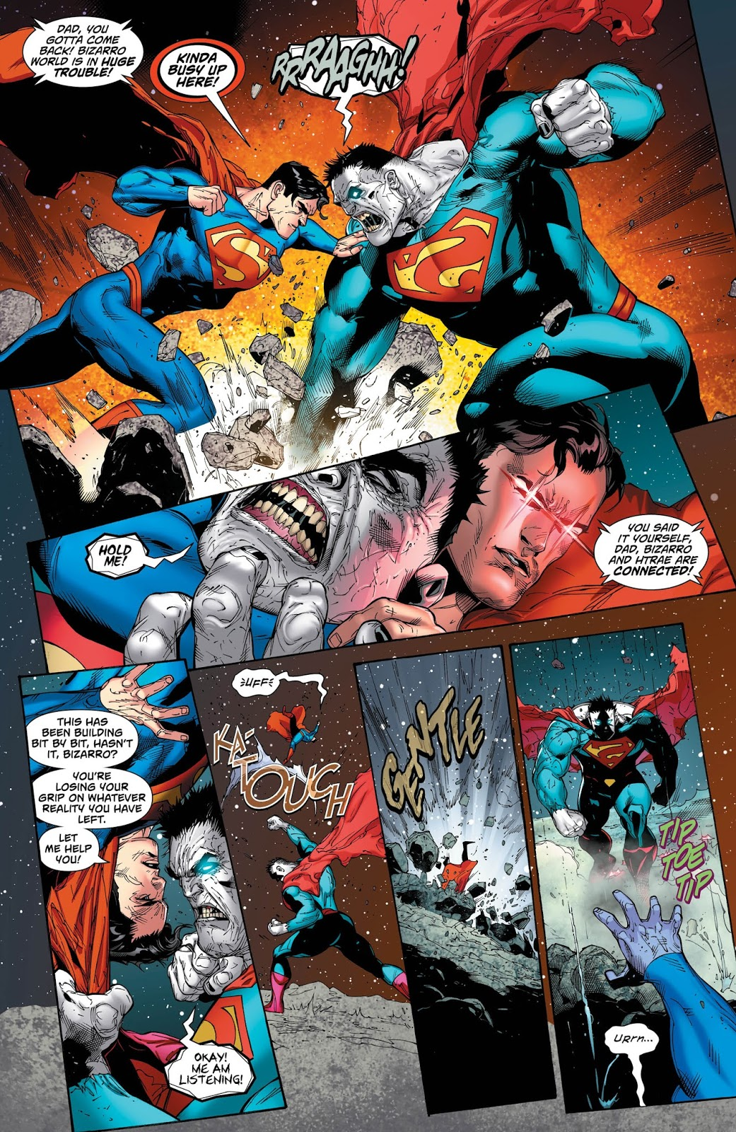 Weird Science DC Comics: Superman #44 Review and *SPOILERS* on