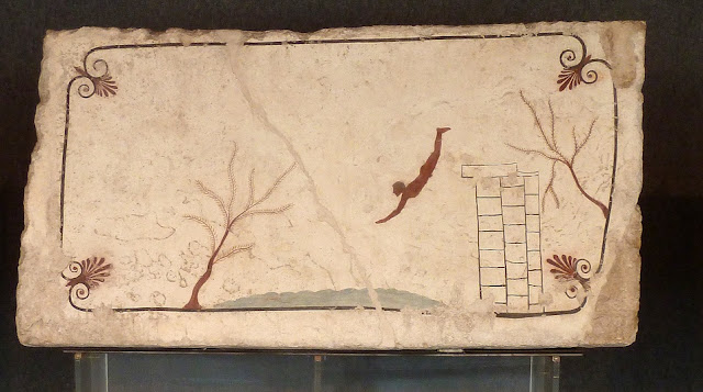 Find sheds light on the occupant of the 'Tomb of the Diver' at Paestum