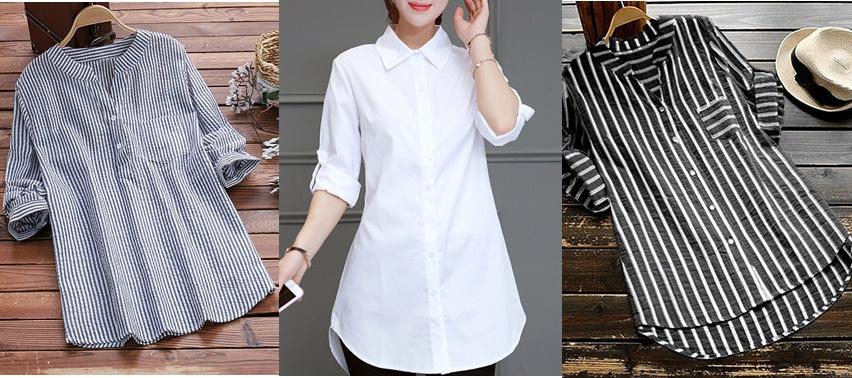Camisas são tendência e vai do trabalho à Balada