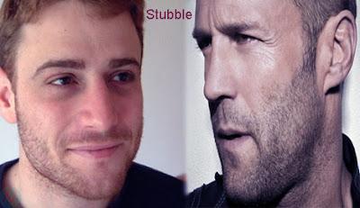 stubble, stubble hairstyle