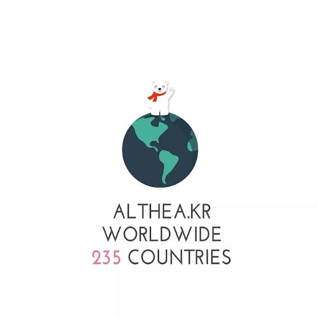 ALTHEA KOREA goes worldwide!