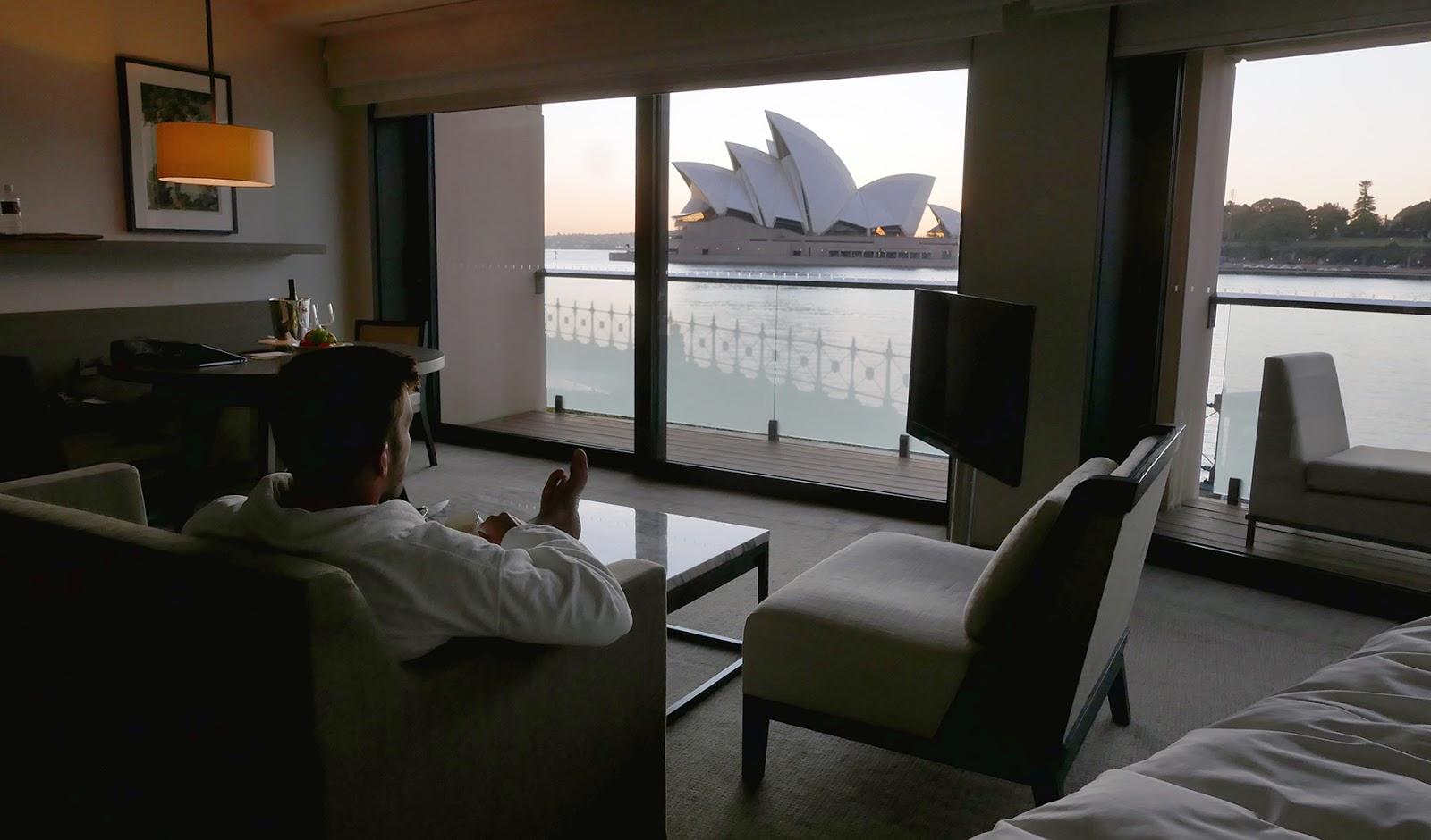 Euriental | luxury travel & style | Sydney Australia, Park Hyatt Opera Deluxe Room