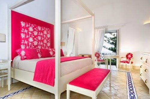 dormitorio juvenil color fucsia