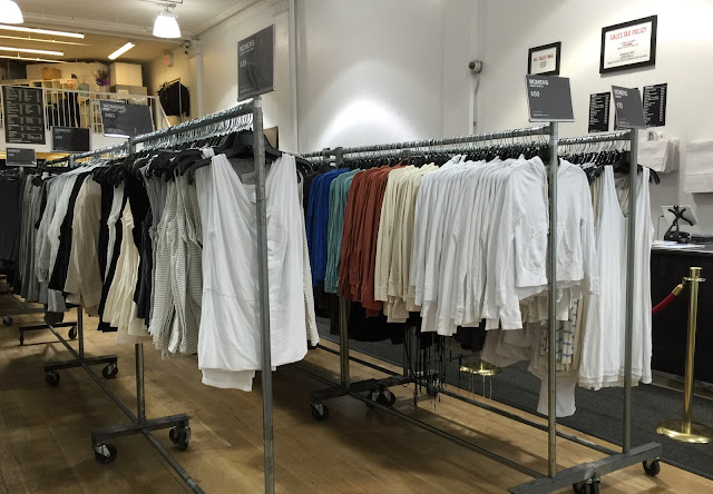 A Sea of Tees At James Perse Sample Sale | Practically Haute