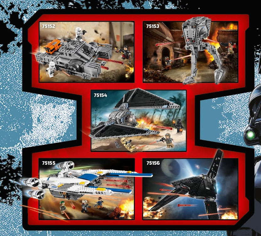 Awesome Brick News: Star Wars Rogue One Lego Sets Leaked!
