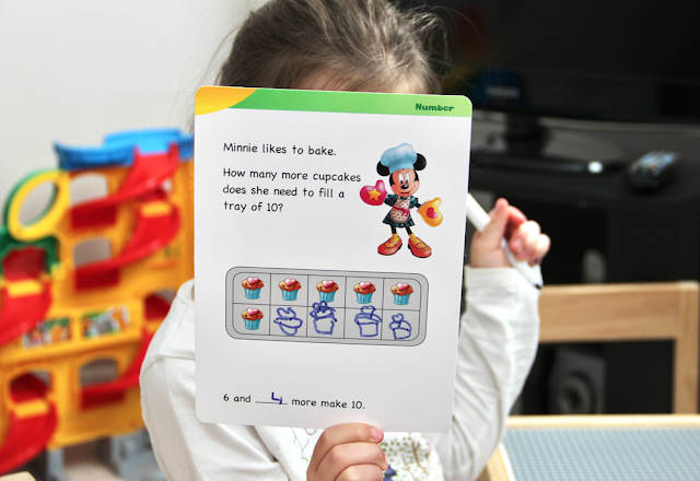 NELSON's Disney Learning Math Activity Cards