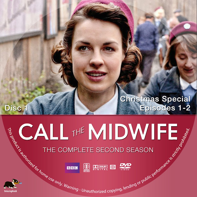 Call The Midwife Season 2 Disc 1 DVD Label