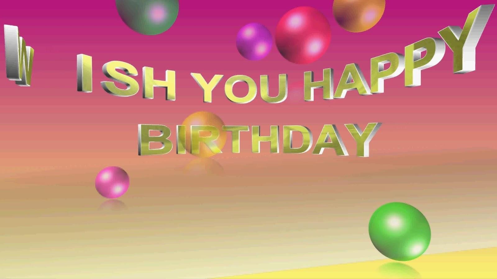 Happy Birthday Quotes Wishes Love