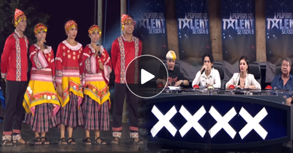 Tribung Burulakaw From Iloilo City Wowed The PGT Judges By Their World-Class Talent In Fire Dancing!