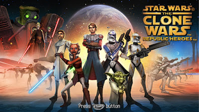 Download Star Wars The Clone Wars - Republic Heroes Europe (M3) Game PSP for Android - www.pollogames.com