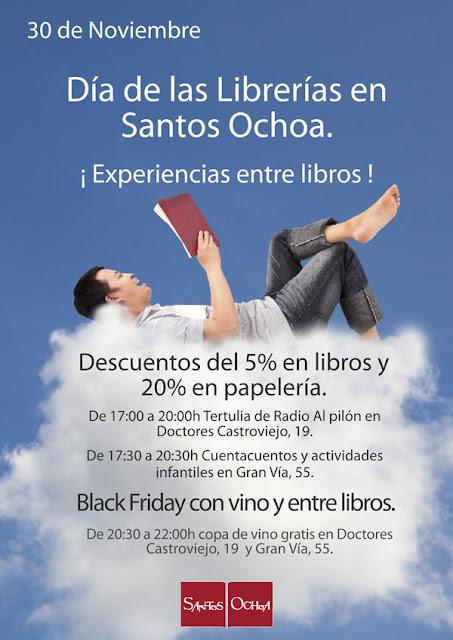 """30 N. Día de las Librerías y """"Black Friday"""""""