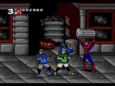 Spider-man - Os primeiros jogos de sucesso