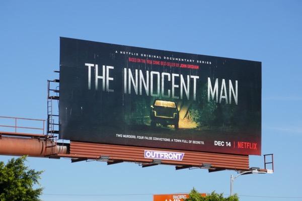 Innocent Man docu-series billboard
