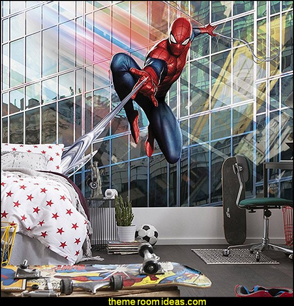 Marvel Spiderman mural - Rush
