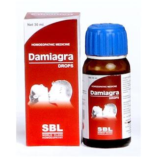 SBL Damiagra Impotence drops. Hindi. इस.बी.एल  दामियाग्रा
