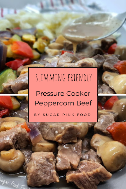 Pressure Cooker Peppercorn Beef | Healthy Recipe