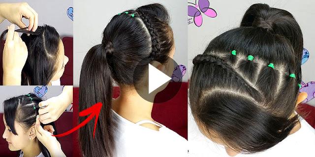 Videos de peinados de nina trenzas