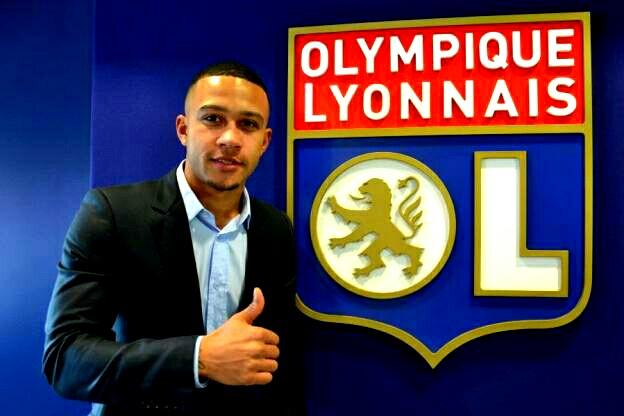 Memphis Depay é o novo reforço do Lyon