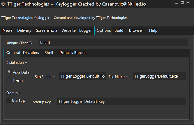 TTiger Technologies Keylogger