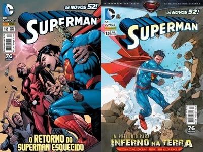 Resenha Superman Nº 12 e 13
