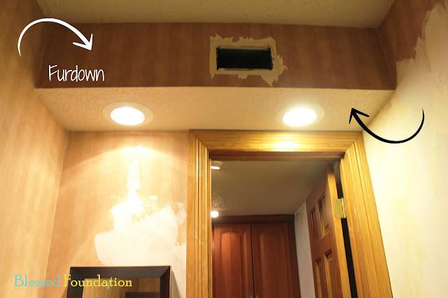 Kitchen Vent Duct Inexpensive Decor Blessed Foundation: Post 27: Half Bath Demolition