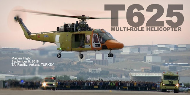 Image Attribute: The Successful first flight of T625 on 6th September at TAI facilities in Ankara, Turkey. / Source: Turkish Aerospace Industries (TAI)/Hürriyet Daily News