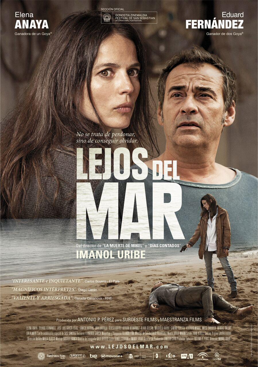 Póster y fecha de estreno de 'Lejos del Mar' de Imanol Uribe