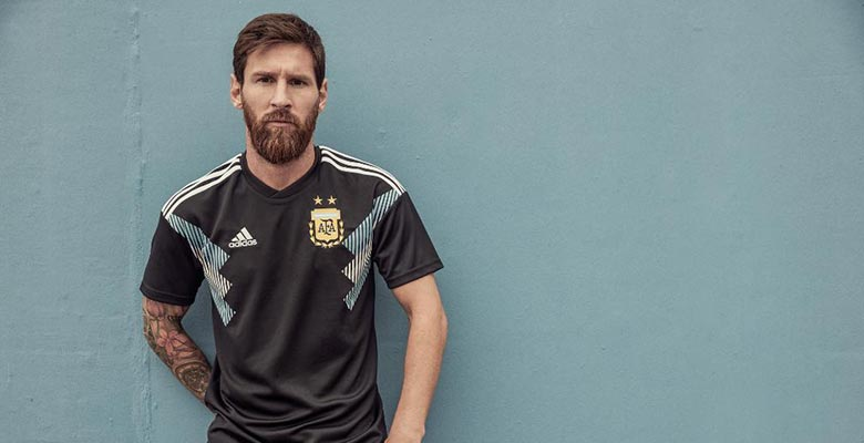 67c44b3faed Adidas this morning released the new Argentina 2018 World Cup away kit