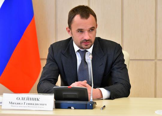 Министр транспорта Московской области Михаил Олейник.