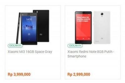 Resmi Hadir, Ini Harga Xiaomi Mi3 dan Redmi Note di Indonesia