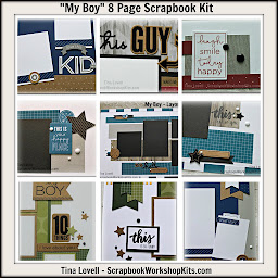 Scrapbook Kit Club