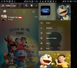 BBM Mod Doraemon Stand By Me v2.12.0.11 Apk Terbaru