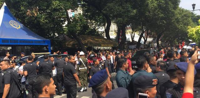 Relawan Hanya Teriak Jokowi, Nama Ma'aruf Tidak Terdengar