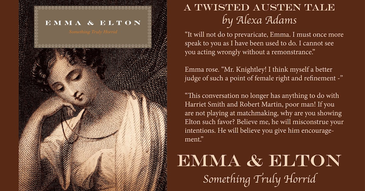 emma an analysis of mrs elton Miss augusta hawkins, who becomes mrs elton in jane austen's emma, is an interesting character, in that she is unquestionably the most distinct persona in the novel.