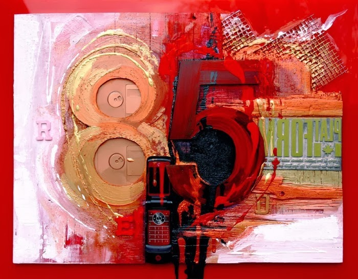 Абстрактные картины. Cliff Kearns